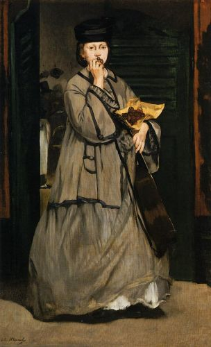 The Street Singer by Edouard Manet