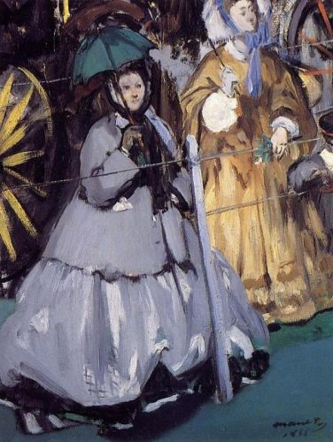 Women at the Races by Edouard Manet