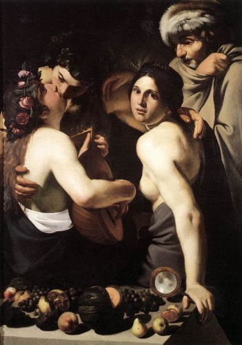Allegory of the Four Seasons by Bartolomeo Manfredi