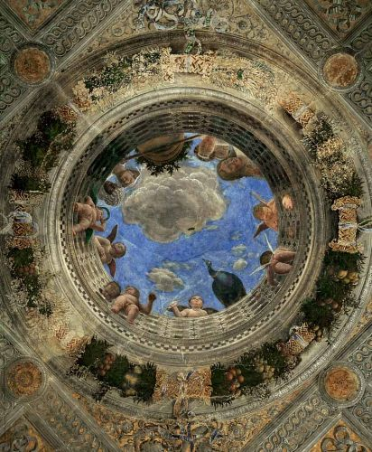 Ceiling Oculus by Andrea Mantegna