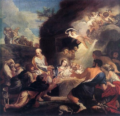 Adoration of the Shepherds by Carlo Maratta