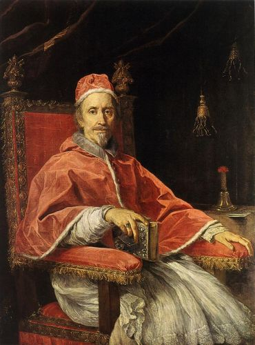 Portrait of Pope Clement IX by Carlo Maratta