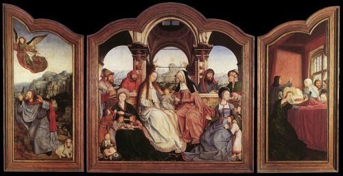 St Anne Altarpiece by Quentin Massys