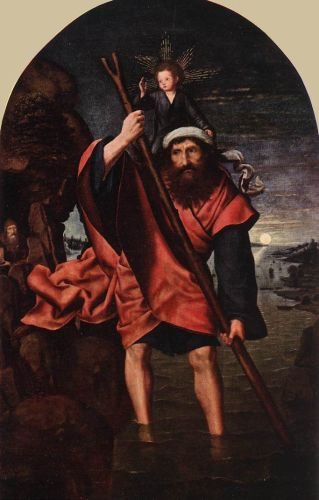 St Christopher by Quentin Massys