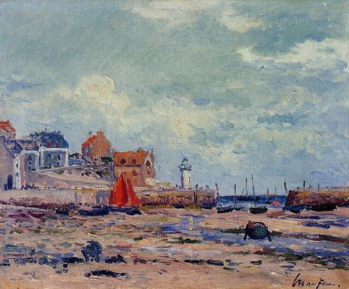 At Low Tide by Maxime Maufra