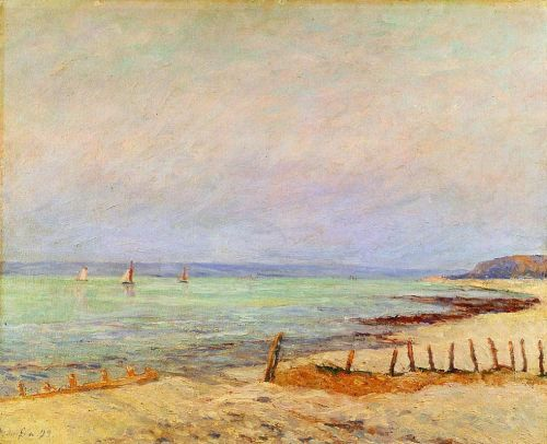 Dusk, the Mouth of the Seine by Maxime Maufra