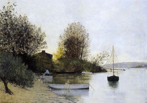 Fishermen on the Banks of the Loire by Maxime Maufra