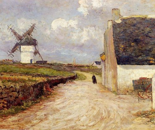 Near the Mill by Maxime Maufra