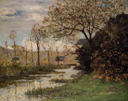 The Auray River, Spring by Maxime Maufra