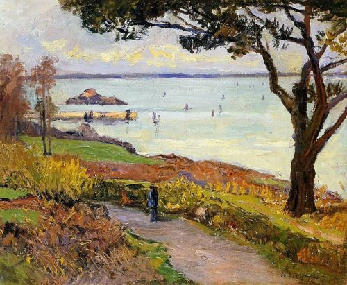 The Bay of Douarnenez by Maxime Maufra