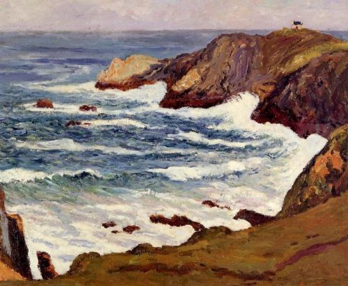 The Cove at Cape Suzon by Maxime Maufra
