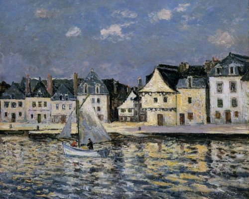 The Port of Saint Goustan, Brittany by Maxime Maufra