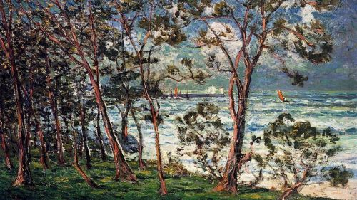 The Shore at Duarnenez by Maxime Maufra