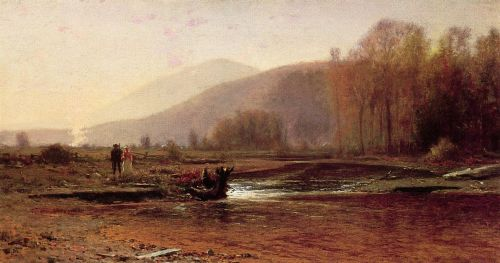 Dusk in the Foothills by Jervis McEntee