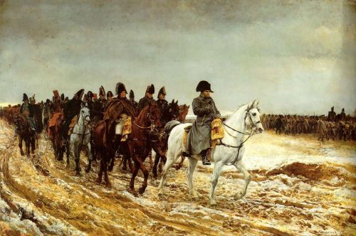 The French Campaign by Jean-Louis Ernest Meissonier