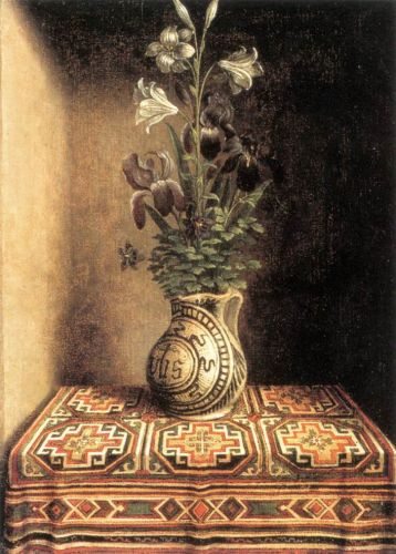 Flower Still-life by Hans Memling