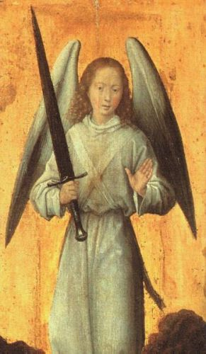 The Archangel Michael by Hans Memling