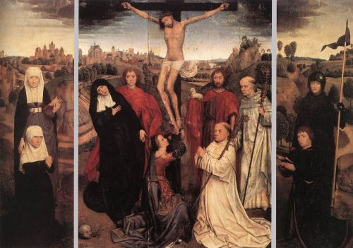 Triptych of Jan Crabbe by Hans Memling