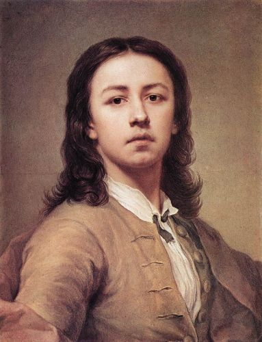 Self-Portrait by Anton Raphael Mengs