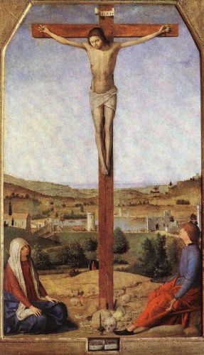 Crucifixion by Antonello da Messina