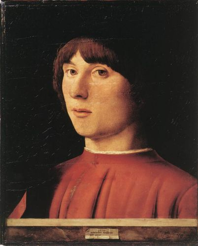 Portrait of a Man by Antonello da Messina
