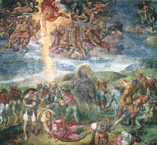 The Conversion of Saul by Lodovico Buonarroti Simoni Michelangelo