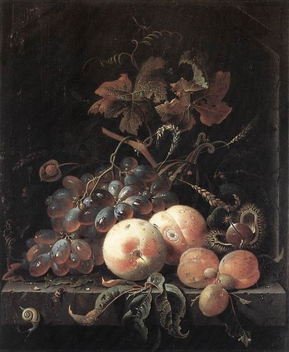 Still-Life with Fruits by Abraham Mignon