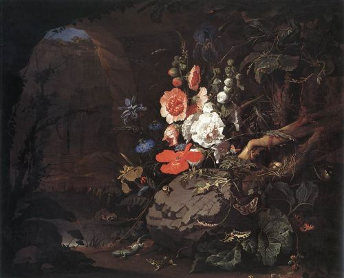 The Nature as a Symbol of Vanitas by Abraham Mignon