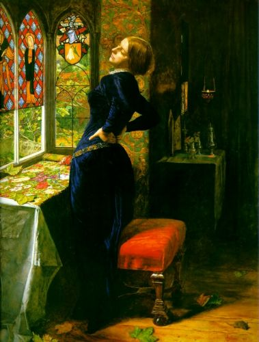 Mariana in the Moated Grange by John Everett Millais