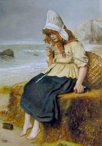 Message from the Sea by John Everett Millais