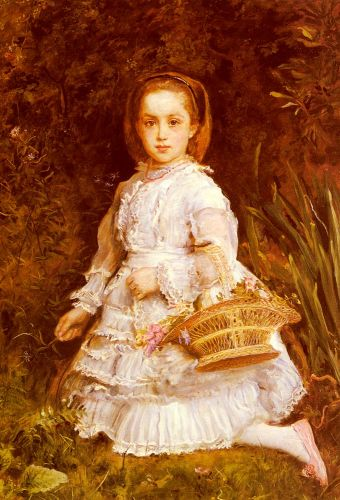 Portrait Of Gracia Lees by John Everett Millais