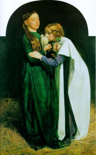 The Return of the Dove to the Ark by John Everett Millais