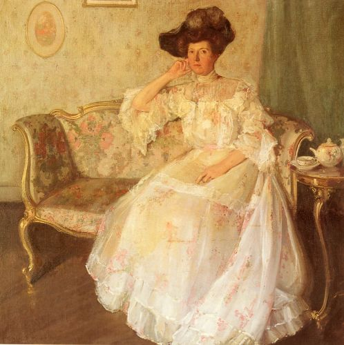 Virginia Matthews James by Richard Emil Miller