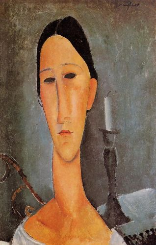 Anna Zborowska by Amedeo Modigliani