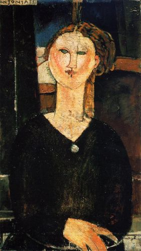 Antonia by Amedeo Modigliani