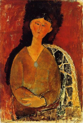 Beatrice Hastings, Seated by Amedeo Modigliani