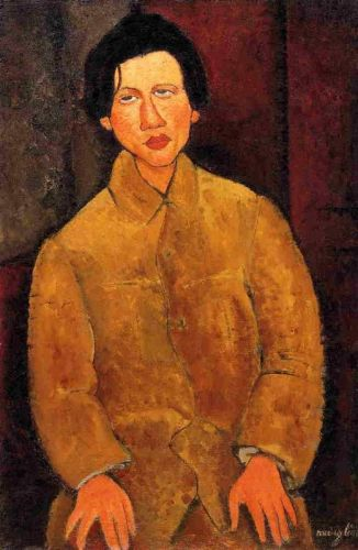 Chaim Soutine by Amedeo Modigliani