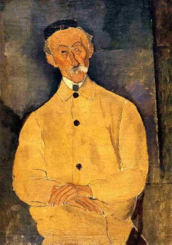 Constant Leopold by Amedeo Modigliani