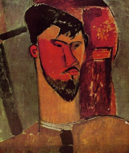 Henri Laurens by Amedeo Modigliani