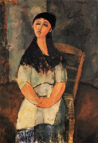 Little Louise by Amedeo Modigliani