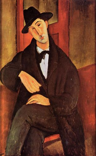 Mario Varvogli by Amedeo Modigliani