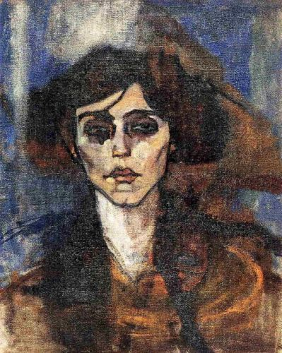 Maude Abrantes by Amedeo Modigliani