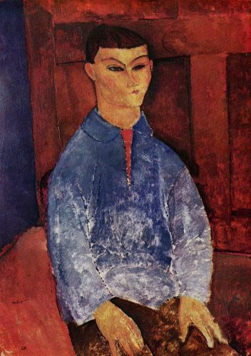 Moise Kisling by Amedeo Modigliani