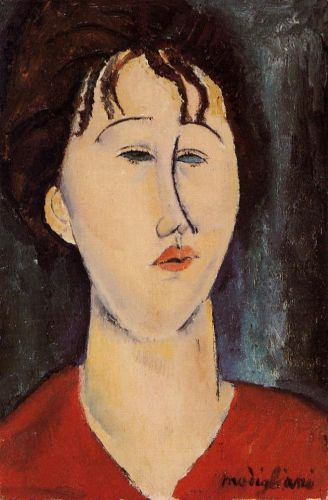 Woman's Head by Amedeo Modigliani
