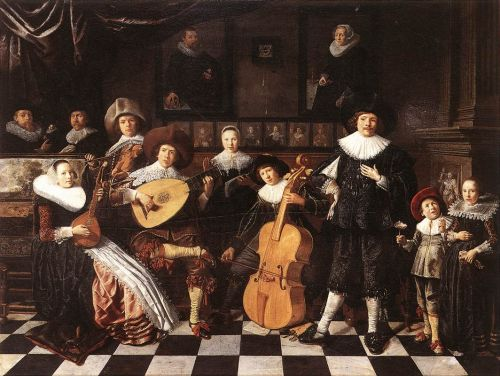 Family Making Music by Jan Miense Molenaer