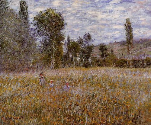 A Meadow, 1879 by Claude Monet
