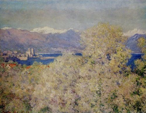 Antibes - View of the Salis Gardens, 1888 by Claude Monet