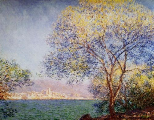 Antibes in the Morning, 1888 by Claude Monet
