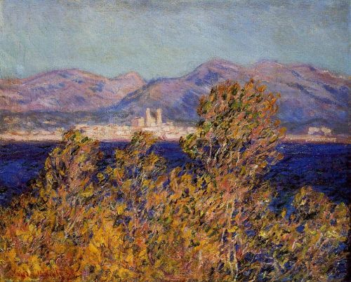 Antibes Seen from the Cape, Mistral Wind, 1888 by Claude Monet