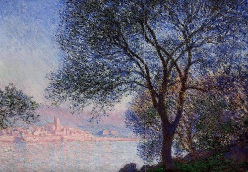 Antibes Seen from the Salis Gardens, 1888 by Claude Monet